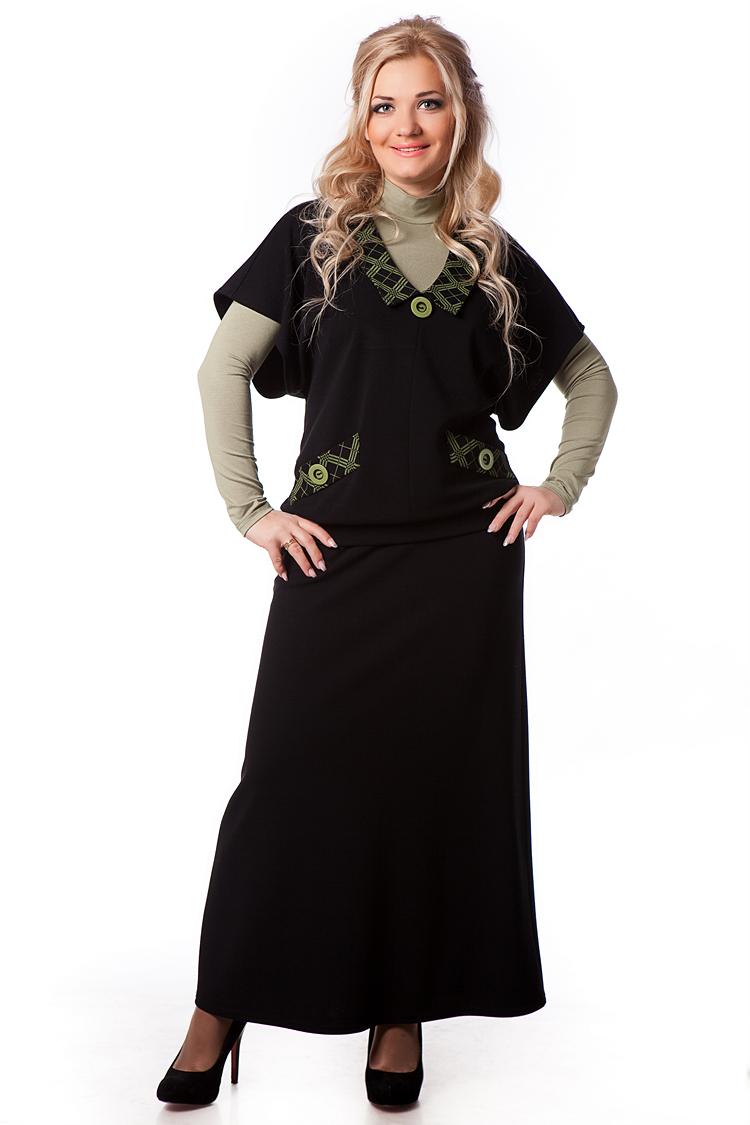 Модно длинные юбки